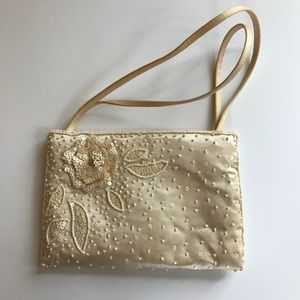 Champagne evening Bag